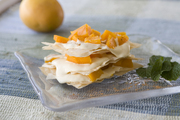Creamy Phyllo Fruit Tower