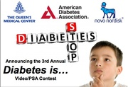 3rd Annual Diabetes is... PSA/Video Contest